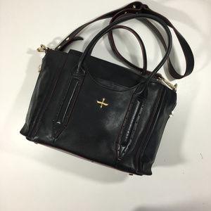 Pour La Victoire Leather Satchel Shoulder Bag